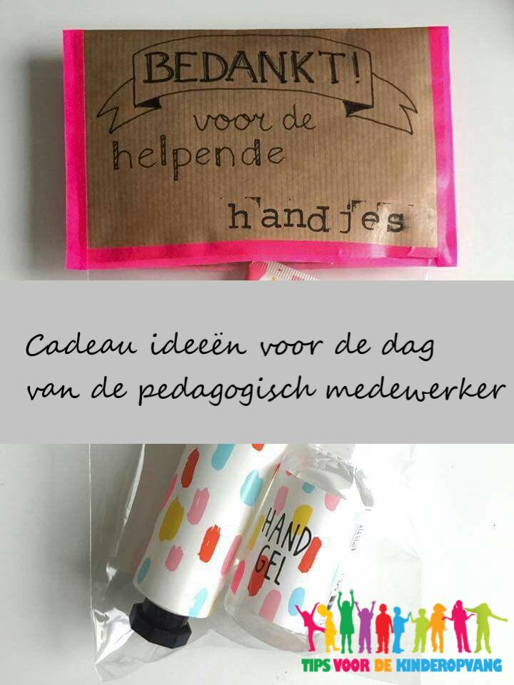 Ongebruikt Cadeau ideeën voor de dag van de pedagogisch medewerker | Tips AV-89