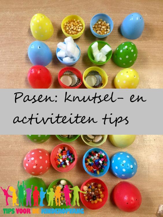 Verwonderlijk Pasen: knutsel- en activiteiten tips   Tips voor de kinderopvang HL-36